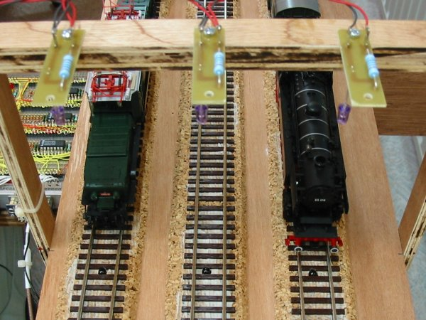 wiring a model railroad part 4 infrared trains detection cablage 04 01